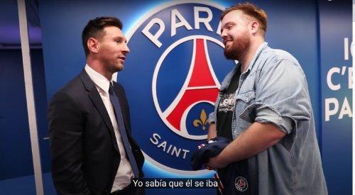 Wie hat dieser Twitch-Streamer das erste Messi-Interview nach dessen PSG-Wechsel bekommen?
