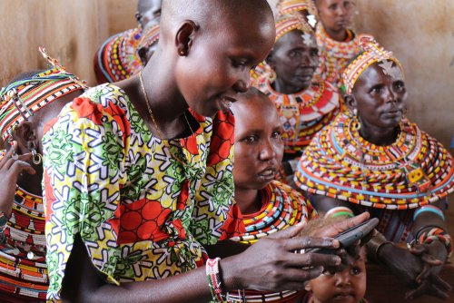 These tablets bring information and empowerment to women in rural Kenya