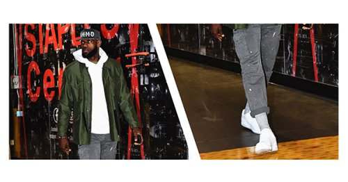 3 Ways LeBron James Styles the Nike Air Force 1 // ONE37pm