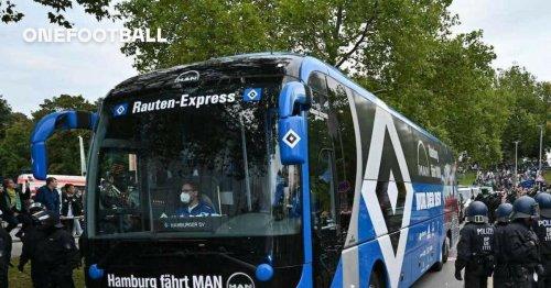 📸 Vor dem Nordderby: Mannschaftsbus des HSV in Grün und Weiß