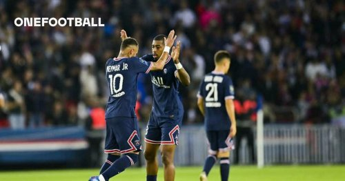 PSG name their starting XI for clash against Montpellier