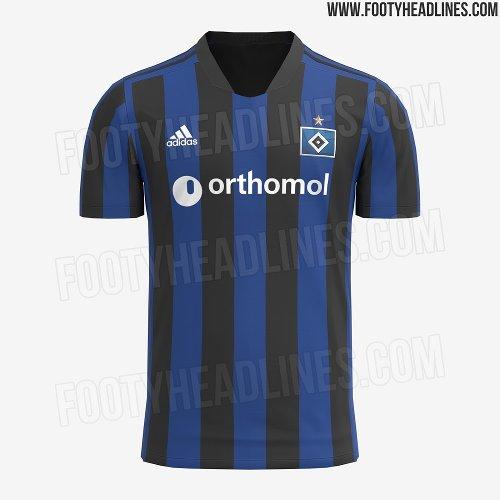  Mit internationalem Flair: Neues HSV-Trikot erinnert an Inter
