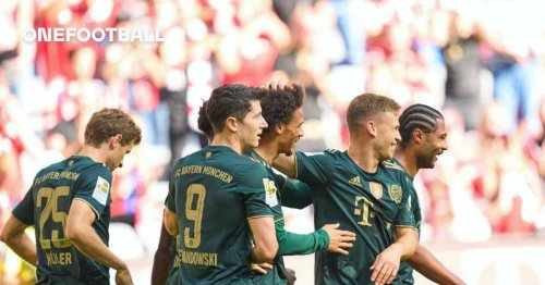 Bayern name starting XI for Greuther Fürth