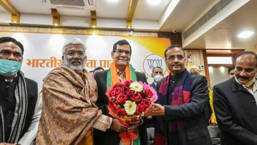 PM Modi's aide, former bureaucrat AK Sharma made UP BJP's Vice President amid reports of dissent