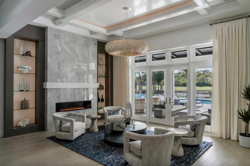 Dream Home Tour: Coastal style residence with luxury details in Florida