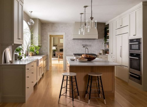 This beautiful Washington home remodel embodies warmth and character