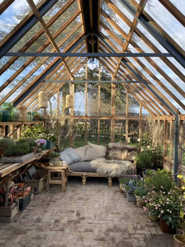 20+ Awesome Backyard Greenhouse Ideas For Gardening Enthusiasts