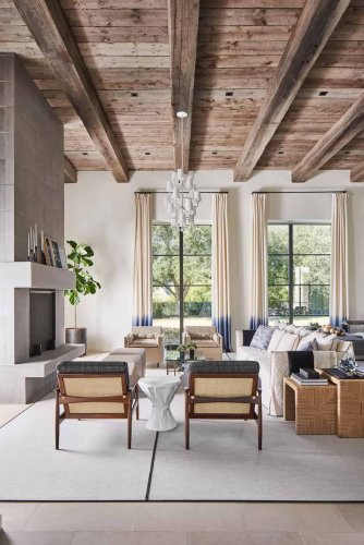Inside a luminous family home in Texas with exhilarating design details
