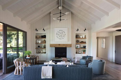 This Napa Valley farmhouse retreat is the ultimate nature-inspired design