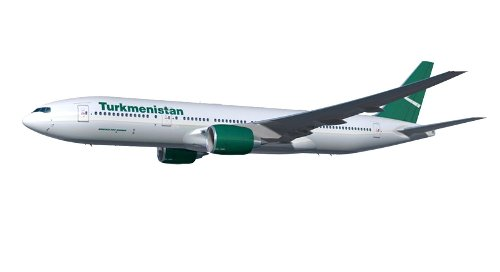 Turkmenistan Airlines' New Boeing 777-200LR   One Mile at a Time