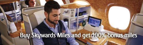 Emirates Skywards Selling Miles With 100% Bonus (Best Price Ever)
