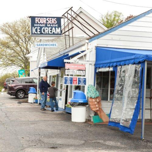 Four Seas Is An Award-Winning Massachusetts Ice Cream Shop With 50 Dreamy Flavors