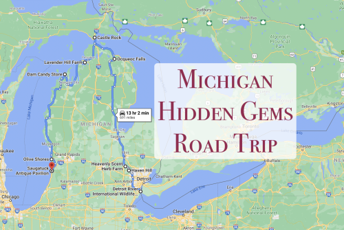 The Ultimate Michigan Hidden Gem Road Trip Will Take You To 9 Incredible Little-Known Spots In The State