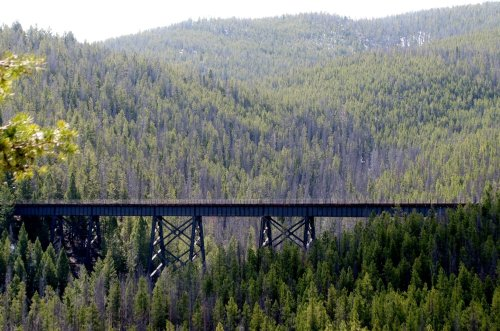 The One-Of-A-Kind Trail In Montana With Bridges And Railroad Tunnels Is Quite The Hike