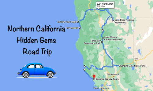 The Ultimate Northern California Hidden Gem Road Trip Will Take You To 10 Incredible Little-Known Spots In The State