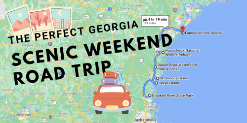 Drive To 6 Impressive Summer Spots Throughout Georgia On This Scenic Weekend Road Trip
