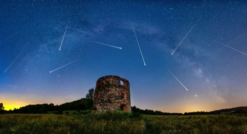 This Year, The Lyrids Meteor Shower Above Texas Will Peak On Earth Day In A Celestial Celebration