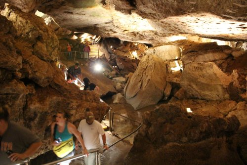 Hike Through An Ancient Cave In Oklahoma For An Impressive Underground Adventure