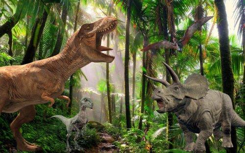 Wander Among Dozens Of Lifelike Dinosaurs At Dino Stroll In Pittsburgh
