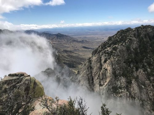 This Difficult Hiking Trail In New Mexico Will Take You To Old Ruins, A Mine, And Majestic Views