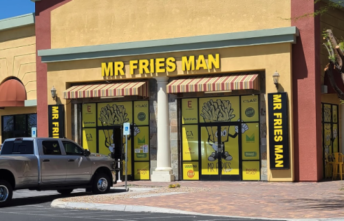 Fries Are The Only Thing On The Menu At Mr. Fries Man In Nevada And It's Kind Of Amazing