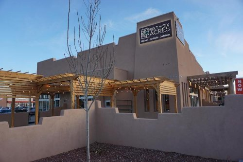 Eat A Delicious Dinner On One Of The Best Outdoor Patios In New Mexico At Sixty-Six Acres