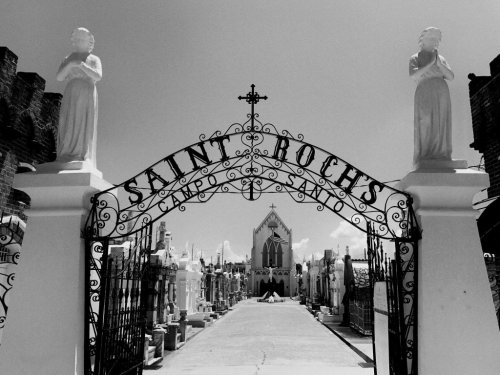 The St. Roch Cemetery Is One Of Louisiana's Spookiest Cemeteries