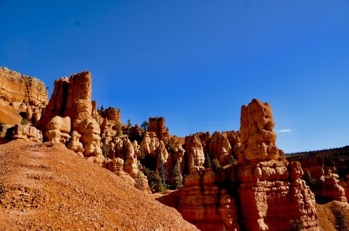 There's Nothing Quite As Magical As The Rock Formations You'll Find At Red Canyon In Utah