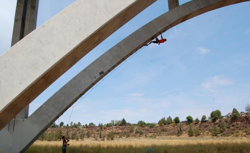 There's A Bridge In Redmond, Oregon, That You Can Actually Climb