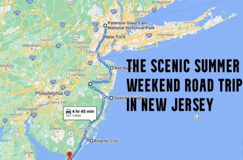 Drive To 7 Impressive Summer Spots Throughout New Jersey On This Scenic Weekend Road Trip