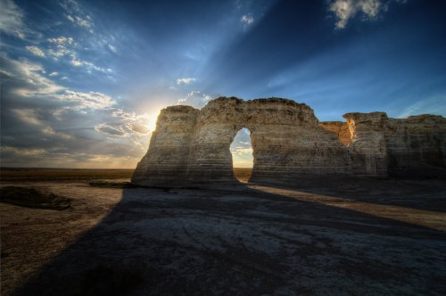 The Unique Day Trip To Monument Rocks Natural Landmark In Kansas Is A Must-Do