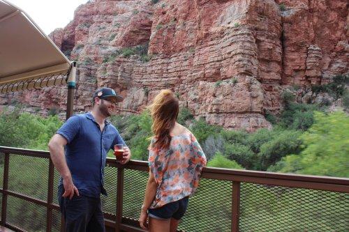 Sip Seasonal Beer On A Train Ride Through Arizona's Most Magical Fall Foliage