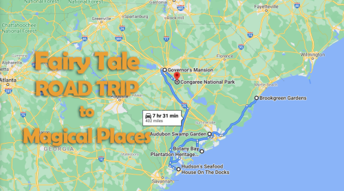 The Fairytale Road Trip That'll Lead You To Some Of South Carolina's Most Magical Places