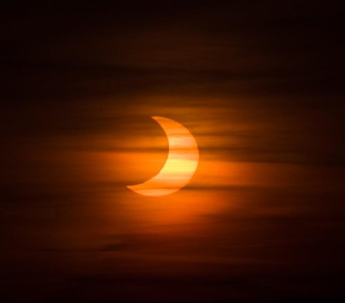 At Dawn On June 10, 2021, A Partial Solar Eclipse Will Rise In The Indiana Sky