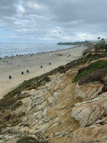 Ocean Front Boardwalk In Southern California Leads To One Of The Most Scenic Views In The State