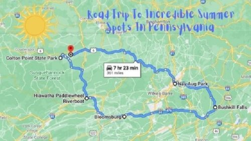 Drive To 6 Incredible Summer Spots Throughout Pennsylvania On This Scenic Weekend Road Trip