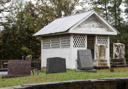 A Southern Folk Tradition, Grave Houses Were Once A Common Sight In Mississippi