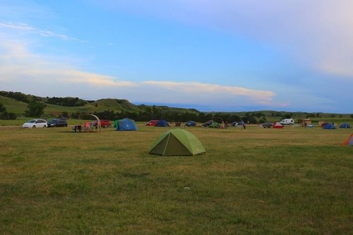 You Cannot Beat The Jaw-Dropping Views At South Dakota's Incredible Sage Creek Campground