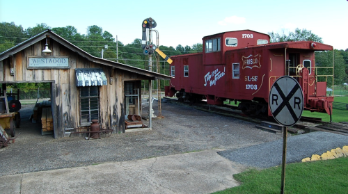 Stroll Through An Eclectic Village From The Past At Oren Dunn City Museum In Mississippi