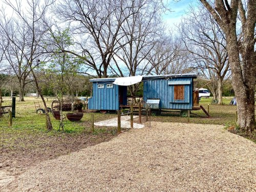 Live Out Your Glamping Dreams At The Sheepherder's Wagon In Mississippi