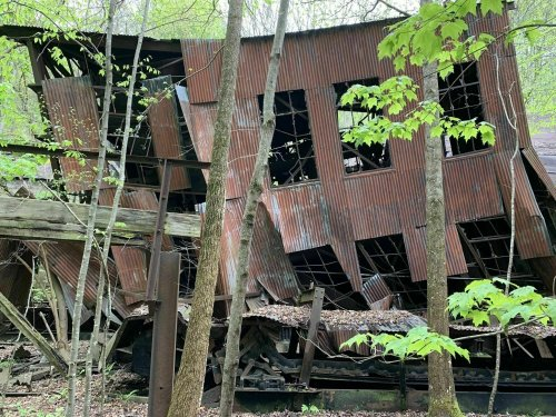 A Mysterious Woodland Trail In West Virginia Will Take You To The Original Brooklyn Mine Ruins