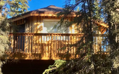Stay Overnight At This Spectacularly Unconventional Treehouse In Alaska