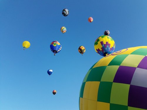 The Sky Will Be Filled With Colorful And Creative Hot Air Balloons At Red Rock Lake Balloonfest In Iowa
