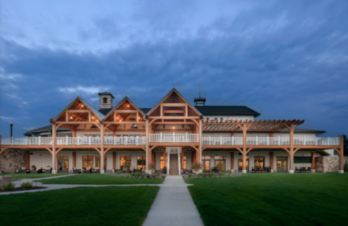 Surround Yourself With Shenandoah Valley Views At The Positively Stunning Region's 117 Restaurant In Virginia
