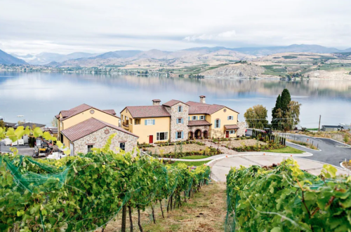 You Can Spend The Night At This Majestic Vineyard Villa In Washington