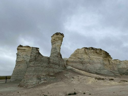 The Unique, Out-Of-The-Way Chalk Pyramids In Kansas That Are Always Worth A Visit