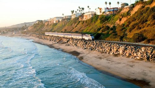 The Moonlit Train Ride Aboard The Amtrak Pacific Surfliner In SoCal Will Give You An Evening To Remember