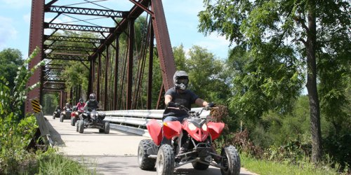 Wisconsin's Cheese Country Recreation Trail Is A Gorgeous 47-Mile ATV Route With A Side Of Curds