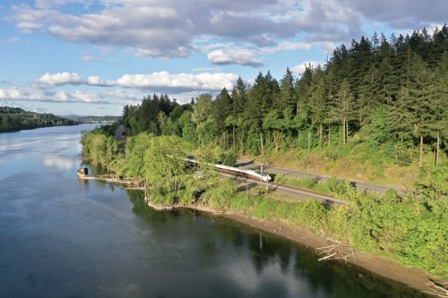 Ride The Amtrak Through Oregon's Cascades For Just $29