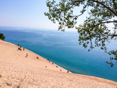 Sleeping Bear Dunes National Lakeshore Is An Inexpensive Road Trip Destination In Michigan